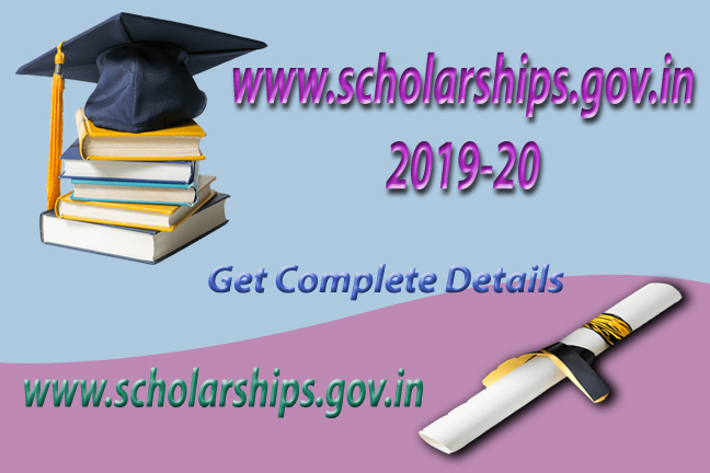 www.scholarships.gov.in 2019-20