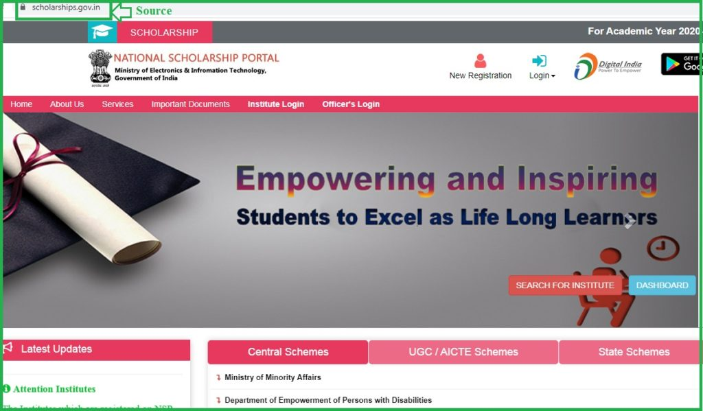 Scholarship Login